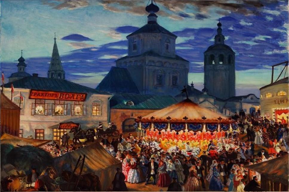 В «Новом Иерусалиме» представят неменее века считавшуюся потерянной картину Кустодиева
