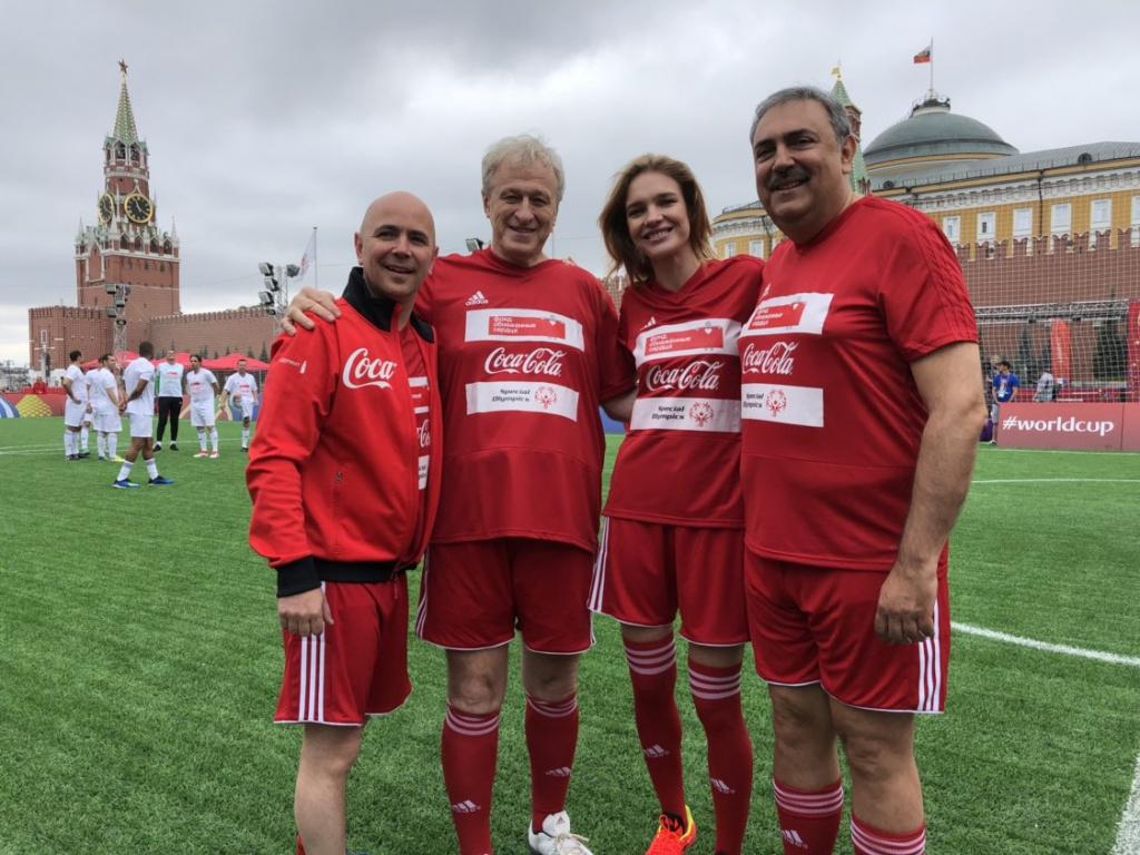 Благотворительный матч с участием Блана, Маттеуса и Плющенко состоялся на Красной площади